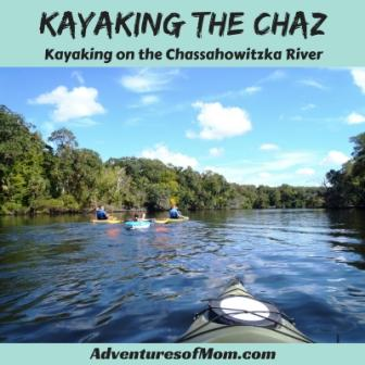 Kayaking the Chaz