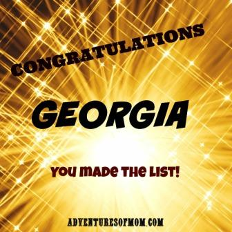 Georgia makes top Travel destination list