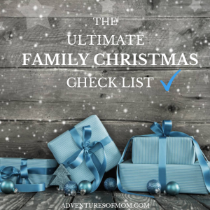 The Ultimate Family Christmas Check List