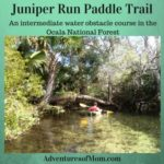 Juniper Run is a 7 mile paddle trail in the Ocala National Forest.
