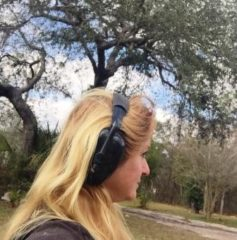 Noise cancelling ear muffs- great for noisy truck rally events