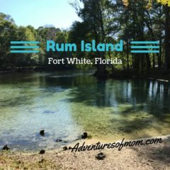 Rum Island County Park in Fort White, Florida