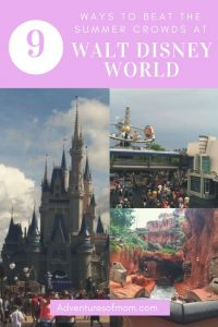 9 Ways to Beat the Summer Crowds at Disney World
