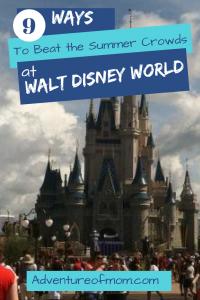 9 Ways to Beat the Crowds at Walt Disney World