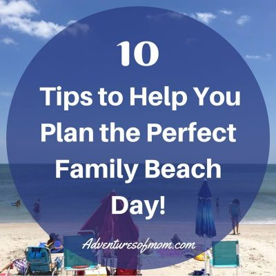 10 tips to help you plan the perfect family beach day