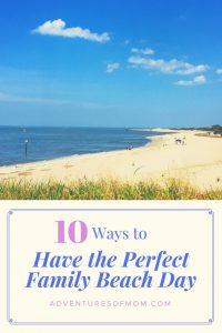 10 things you should do for the perfect family beach day