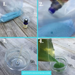 How to Make a Citronella candle with Essential Oils