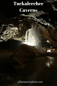 The Highest Subterranean Waterfall in the Eastern U.S. in Tuckaleechee Caverns