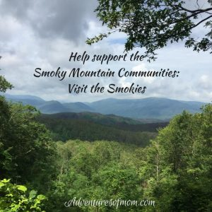 Help support the Somky Mountain communities by visiting the Smokies