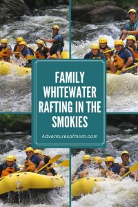 Smoky Mountain Whitewater Rafting Adventures for Families