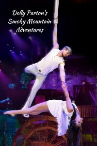 Defying Gravity at Dolly Parton's Smoky Mountain Adventures in Pigeon Forge