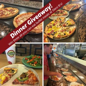 Free Pizza: Dinner Giveaway