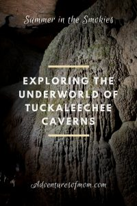 Under the Smokies at Tuckaleechee Caverns
