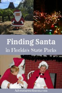 Finding Santa at Florida's State Parks