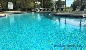 The pool at the Hilton Ocala