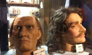 A Peek Inside Potter's Wax Museum in St. Augustine- the 1st wax museum in America