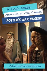 A Peek Inside Potter's Wax Museum in St. Augustine, Florida