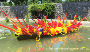 Chihuly Glass Installation at the Biltmore Estate