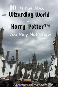 Planning a visit to Harry Potter's Wizarding World™?