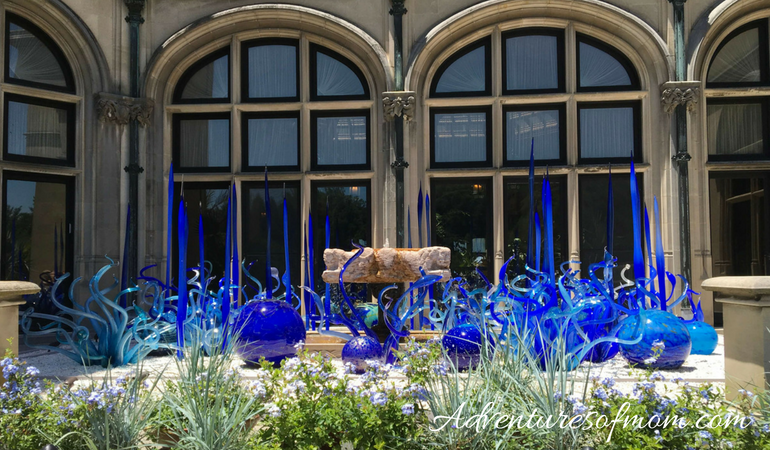 Visiting the Chihuly Exhibition at the Biltmore