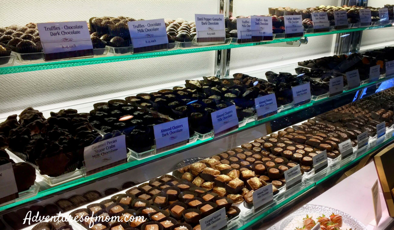Behind the scenes on Whetstone Chocolate Tasting Tour in St. Augustine.