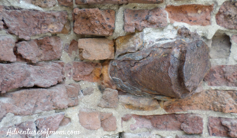 Inside Fort Sumter: Mortar in the Wall: Exploring Charleston with Kids