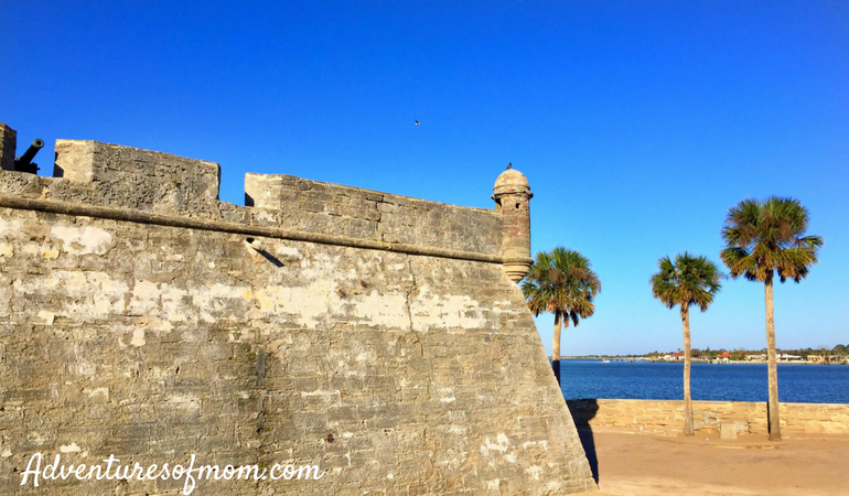 Castillo de San Marcos- Top Things to do in St. Augustine for Families.