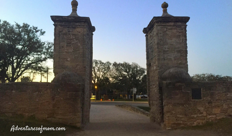 The City Gates of St. Augustine. The Best of St. Augustine for Families