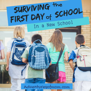 Surviving & Thriving on the First Day of School (In a new school)