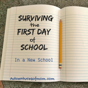 What to expect on the first day of school (in a new school)