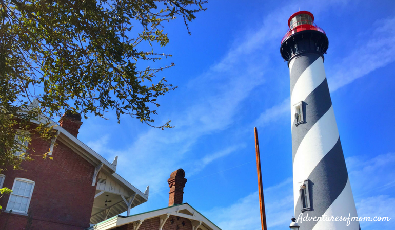 St. Augustine Lighthouse- Best of Family Fun in St. Augustine.