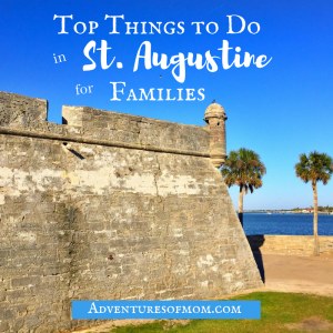 Top Things To Do In St. Augustine For Families
