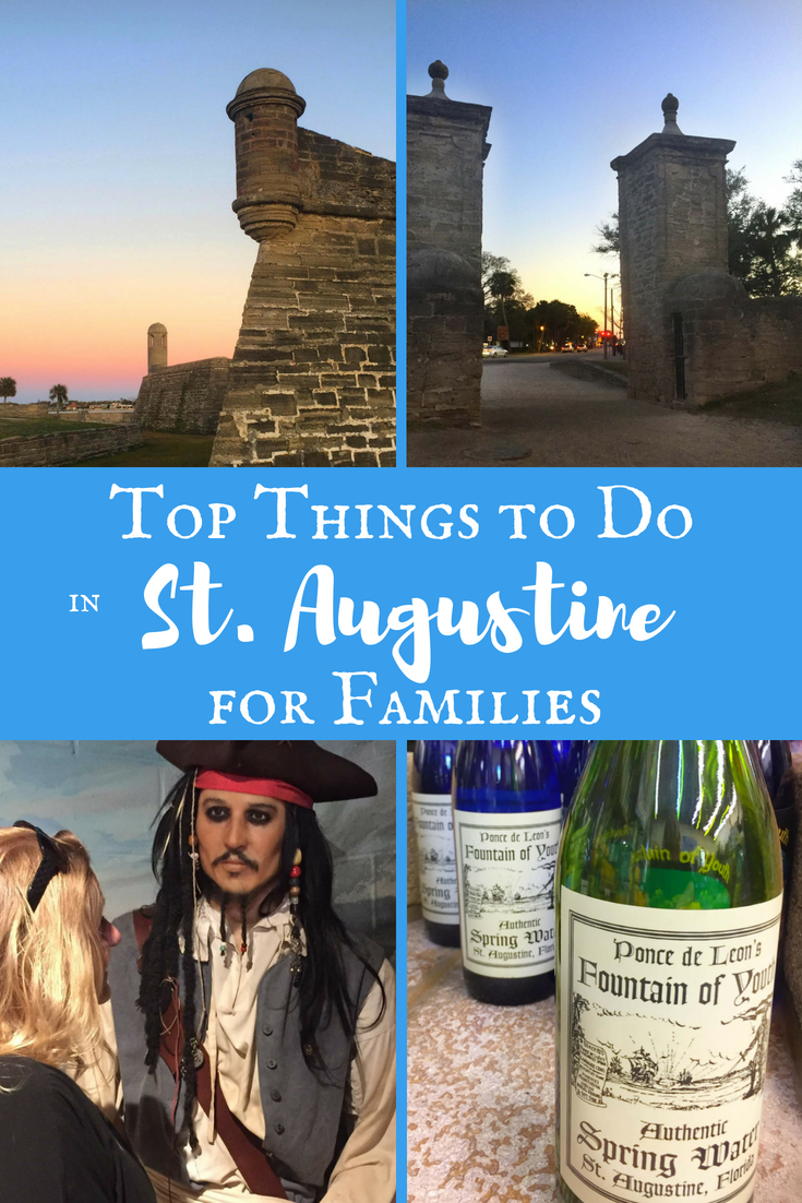 Best of St. Augustine for Families.