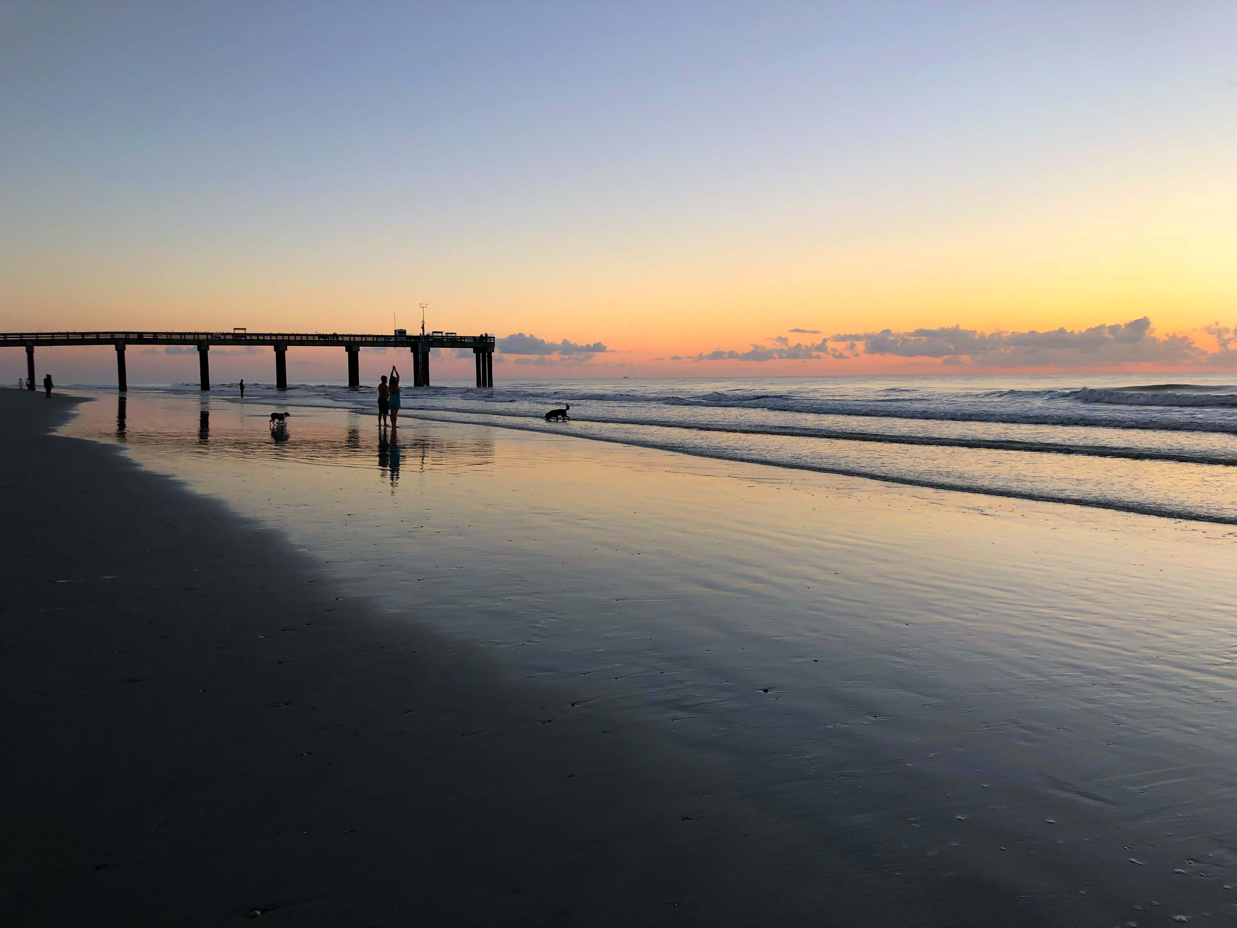Sunrise at St. Augustine Beach: The Best of St. Augustine for Families
