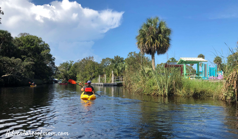 Roger's Park- endpoint of the Weeki Wachee Paddling Trip