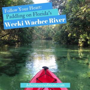 Paddling Florida's Weeki Wachee River