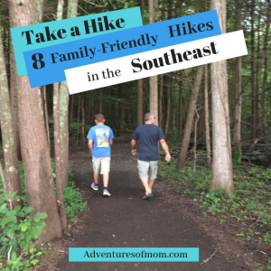 Take a Hike: 8 Family Friendly Hikes in the Southeastern US