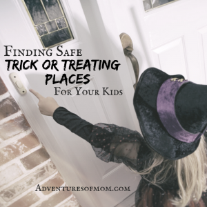 Safer Trick or Treating Venues for Families