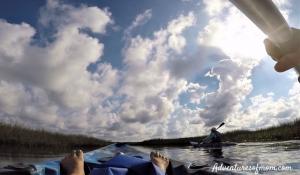 Kayaking to Redfish Bayou on Florida's Coastal Paddle Trail