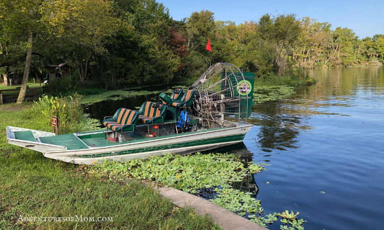Airboat Ride in De Leon Springs, Florida