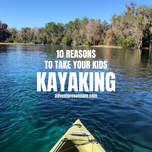 10 Reason to take your kids kayaking (it's not about the scenery!)