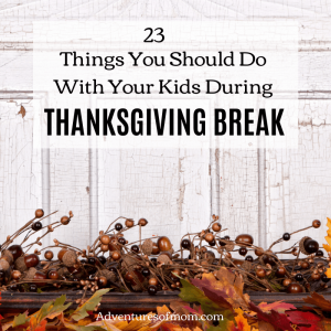 Best Things to Do With Your Kids During Thanksgiving Break