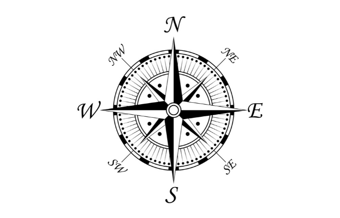 Example of a Compass Rose. Stockphoto @Depositphotos.com